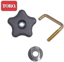 Toro Snow Blower 210 R E 38587 Handle, Bolt, and Washer Knob - 114-3779 108-4887 107-3844