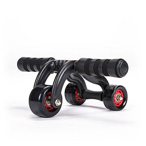 diMio Bauchtrainer - Ab Roller - mit 3 Rollen und Stopper - der effiziente...