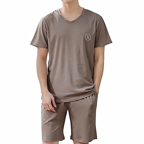 WEEN CHARM パジャマ メンズ 半袖 夏 部屋着 薄手 柔らかい ルームウェア 夏服 肌に優しい モダール綿 無地