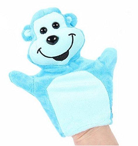 Cartoon marionnette jouets éducatifs préscolaires (bleu singe)