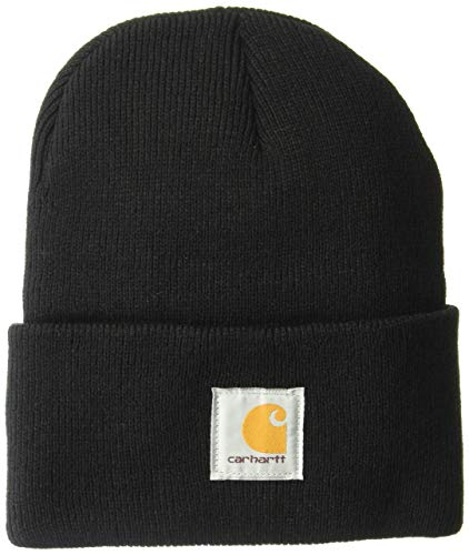 Carhartt Men's Teller Hat, Black, OFA