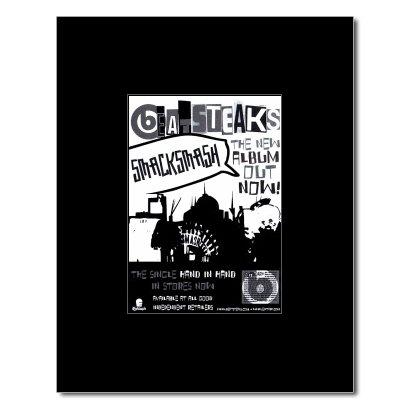BEATSTEAKS - Smash Smash Matted Mini Poster - 13.5x10cm