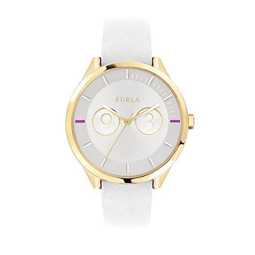 FURLA Reloj Analógico para Mujer de Cuarzo con Correa en Cuero R4251102503