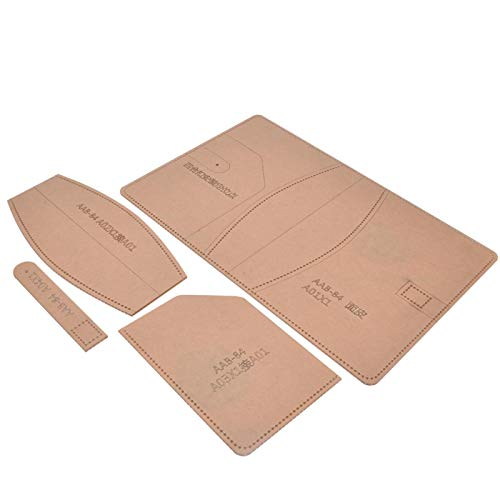 Klares Acryl-Schablonenset Klare Acryl-Schablone für DIY-Leder-Bastel-Mini-Acryl-Notebook-Cover-Schablone