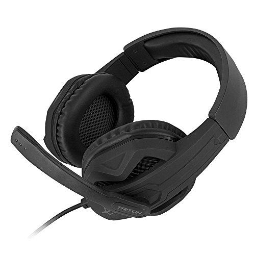Triton H310 Cuffia con microfono Gaming, Regolatore di volume, Finitura Rubber Coating, P003-H310