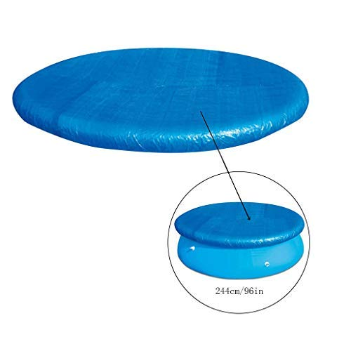 Allence Solarplane Pool Rund, Folie für Poolerwärmung, Dick und Stabil Solarfolie Cover für Runde Pools, Poolplane Solarabdeckplane Poolheizplane Poolabdeckung Schutz Schwimmbad (280cm)
