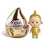 Bebés Llorones Lágrimas Mágicas Golden Edition - Mini muñeca Coleccionable con lágrimas y Accesorios Dorados - Modelo Sorpresa