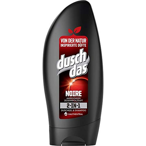 Duschdas Duschgel for Men Noire, 6er Pack (6 x 250 ml)