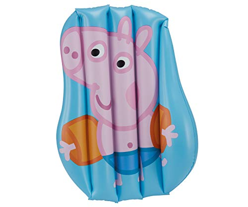 Smart Planet Peppa Pig George - Colchón hinchable para piscina (58 x 52 cm)