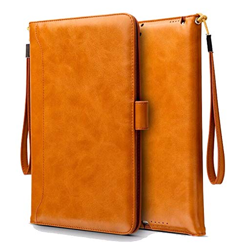 Weichunya For IPad Mini 1/2/3 Universal Retro Fashion Case Bag Leather Protection Cover Protective Case (Color : Brown)