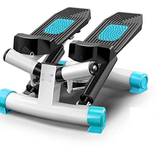 Stepper Stepper Oefening Machine, Met Resistance Cords | Tone je billen, benen, dijen, taille & More | Volg uw vooruitgang,Blue