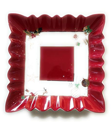 Brandani 53020 Alleluia New Bone China, Colore: Rosso E Bianco