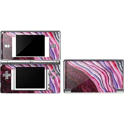 Skinit Decal Gaming Skin Compatible with DS Lite - Officially Licensed Originally Designed Plum Watercolor Geode Design
