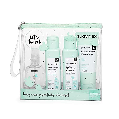 Suavinex Pack Creme de Fralda 75ml + Loção Hidratante 100ml + Gel-Shampoo 100ml + Colónia 100ml
