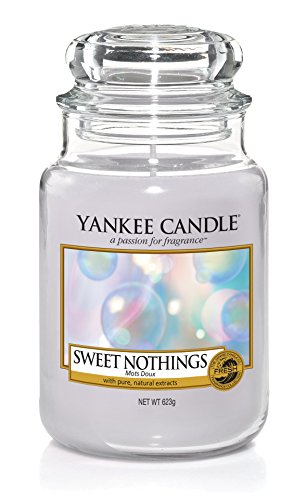 Yankee Candle Sweet Nothings Glaskerze, violett