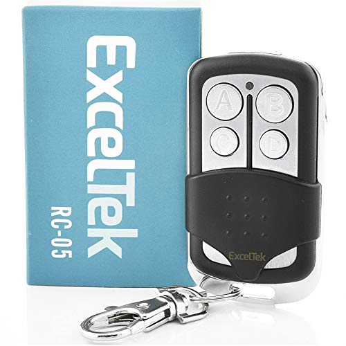 ExcelTek 891LM Compatible Garage Door Remote Control with Yellow Learn Button Liftmaster Chamberlain Craftsman 893LM 950ESTD (1 Pack 893LM Keychain)