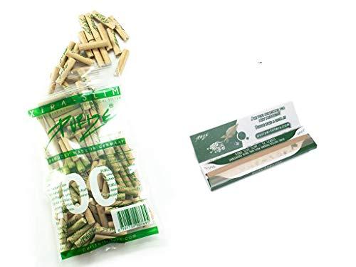 100er PURIZE® XTRA Slim Size Aktivkohlefilter organic