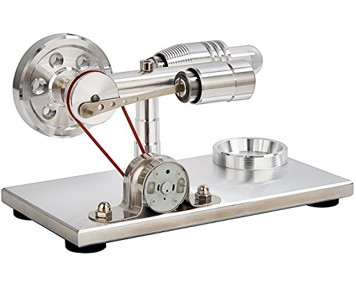 Sunnytech ホット エア スターリング エンジン モーター モデル 教育 おもちゃ 発電機 カラフル LED SC SC004