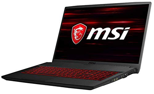 "New MSI GF75 Thin 9RCX 17.3"" Gaming Laptop, Thin Bezel, Intel Core i7-9750H 8GB RAM 256GB SSD GTX 1050Ti 4GB Win 10 Home"