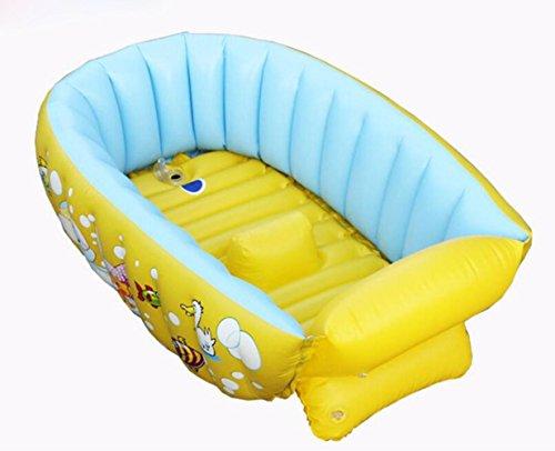 OOFWY Inflable Bañera para bebés, Infantil Portable Mini Piscina al Aire Kid...