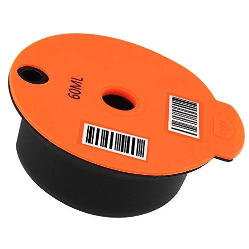 KAMIIN Cápsulas de café reutilizables para cafetera Bosch Tassimo T20, Tassimo Vivy2, Tassimo T55 + CTPM05UC, CTPM12, CTPM07 (60 ml)