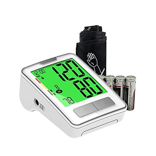 NGLQWA Tensiómetro Smart, Monitor Presión Arterial Digital Automatico Gran Pantalla LCD,Monitor para la presión Arterial y el Control de hipertensión