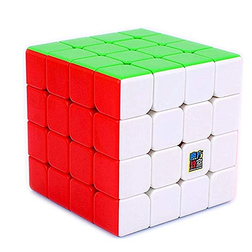 LiangCuber Moyu RS4M 2020 Magnetic 4x4 Speed Cube Stickerless RS4 M 2020 4x4x4 Puzzle Magic Cubes