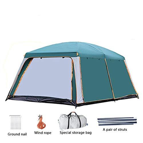 HYQW Camping Tienda 2m Tienda Doble Multijugador Malla De Camping Tienda Transpirable Al Aire Libre