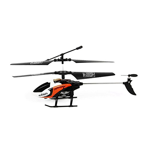 Tiamu 3.5CH 2.4 GHz RC elicottero Drone Outdoor Flying RC Giocattolo Telecomando Modalità Aereo 2 RTF Elicottero Bianco e Arancione
