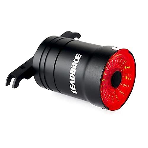Fahrrad Rücklicht Smart Fahrradlicht USB Wiederaufladbare Fahrradrücklichter Sicherheit Rot LED Rücklicht Fahrrad IP65 wasserdichte Nacht Warn Rücklichter Fahrradlampe Fahrradbeleuchtung Fahrradlicht