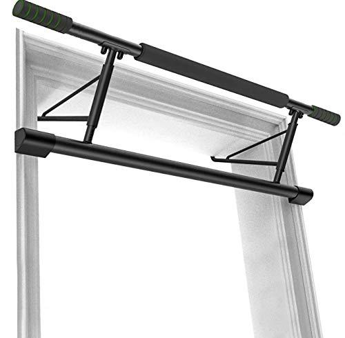 Smiletop ドアジム 懸垂バー チンアップバー チンニングバー ドア用 懸垂マシンマルチエクササイズ 背筋 腹筋 筋力トレーニング 腕立て 懸垂 自宅 トレーニング耐荷重200kg 日本語説明書付き (クラシック版 ドアジム)
