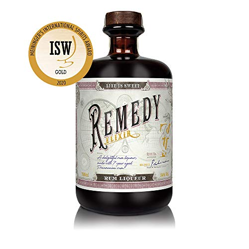 Remedy Elixir (1 x 0,7l) Likör auf Rum - Basis