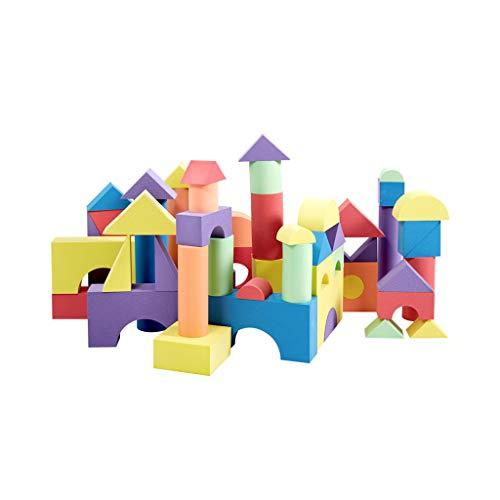 LIUFS-JOUET Blocs de Construction en Mousse pour Enfants, éponge Douce, orthographe, Grands Jouets intellectuels pour l'éducation précoce (Taille : 50 Pieces - 7 cm)