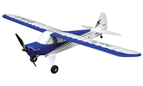 HobbyZone Sport Cub S RC Airplane RTF with SAFE Technology (Includes 6-CH 2.4GHz Transmitter | 150mAh 3.7V LiPo Battery | USB Charger), HBZ4400,Blue