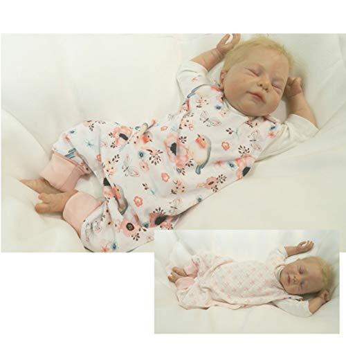 Atelier MiaMia - Wendestrampler Baby Kind von 50, 56, 62, 68, 74, 80, Designer Strampler Limitiert !! Rotkehlchen