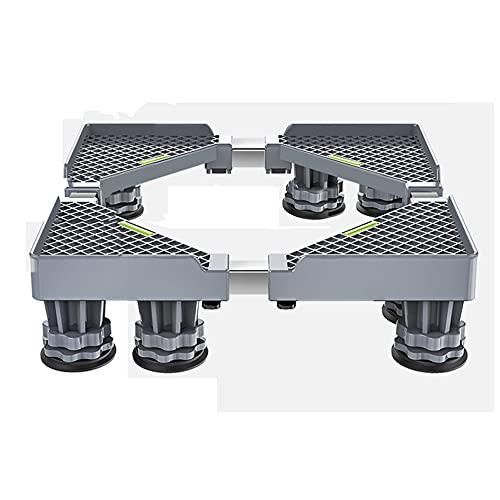 YYHJ Soporte Lavadora Secadora Base Ajustable, Dispositivo Roller Mover, con 4 Pies De Resistentes,Multifuncional Ajustable,para Frigorífico Congelador (Size : 8 Legs)