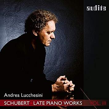 Schubert: Late Piano Works, Vol. 3 (Andrea Lucchesini plays Schubert's Piano Sonatas Nos. 18 & 19)