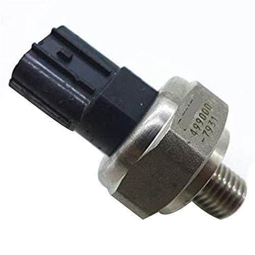 YEZHENGHUA Yzhua Sensor de presión de Aceite Ajuste para H/Onda Sensor de Interruptor de presión de Aceite 37260-RNA-A01 499000-7931 (Color : Black and Silver)