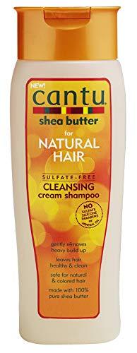 Cantu sulfaatvrije shampoo | Met pure sheaboter | Verzorgt en hydrateert | Inhoud: 400 ml