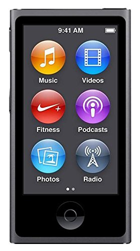 Apple Ipod Nano 7. Generation Space Grau Grey 16GB Mp3 Player Bluetooth