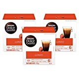 nescafe dolce gusto cup - Nescafe Dolce Gusto, Caffe Lungo, 16 Count (Pack of 3)