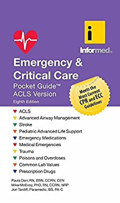 Emergency & Critical Care Pocket Guide by Jones and Bartlett Publishers, Inc