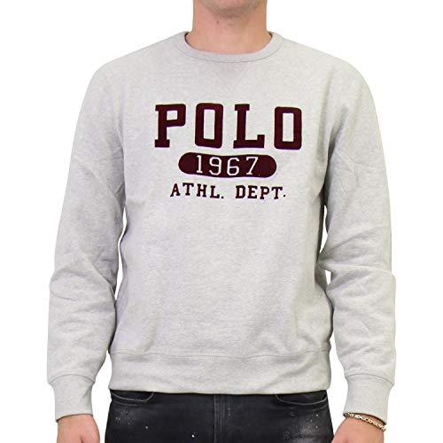 Polo Ralph Lauren Mod. 710766798 Sweat Magic Custom Fit Homme Gris L