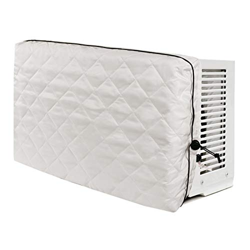 Indoor Air Conditioner Cover, Durable Window Unit Cover, Soft Dustproof Folding for Home Indoor Office Air Conditioner