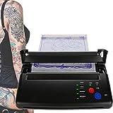 MJJ Copiatrice per trasferimento di Tatuaggi, Stampante Termica fotocopiatrice per Stencil da Disegno Stampa e Il trasferimento dell'immagine dei Disegni del Tatuaggio
