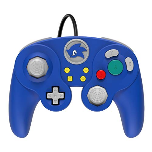 PDP Gaming Sonic GameCube Wired Fight Pad Pro Controller: Sonic - Nintendo Switch