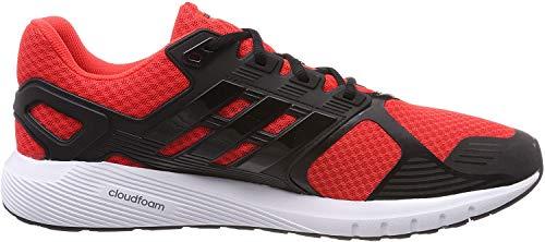 adidas Duramo 8 M, Zapatillas de Running para Hombre, Multicolor (Hi-Res Red/Core Black/Core Black 0), 44 EU