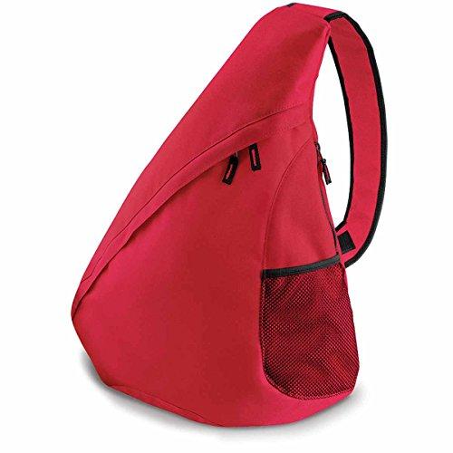 Bag Base BG211CRED Sac monosangle universel unisexe Rouge classique Taille M