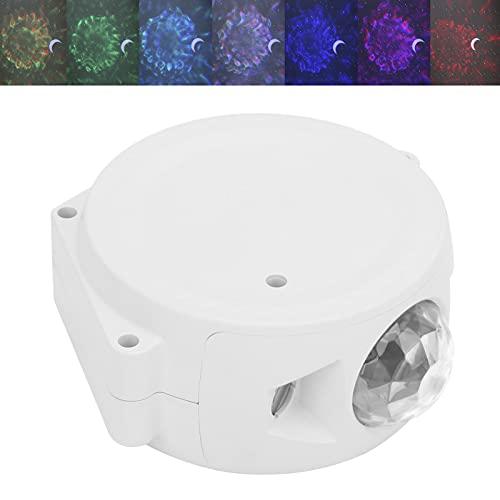 Star Sky Light, toque el interruptor 9 diferentes efectos de luz Luz de cielo decorativa con cable USB para decoración de bodas Decoración del hogar, decoración de vacaciones