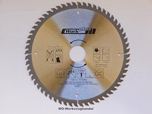 Preisvergleich Produktbild 1 HM Kreissägeblatt für Alu Ø 190 x 30 mm 60 HM-Zähne,  für Aluminium-Legierung und Kunststoffprofile Sägeblatt Kreissägeblätter 73719